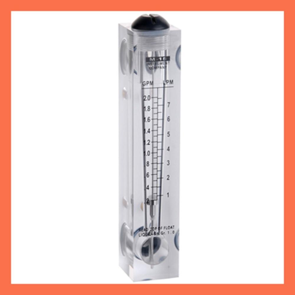 ФОТО LZM-15 panel type without control valve0.2-2GPM(1-7LPM) flowmeter(flow meter) lzm15 panel/Liquid flowmeters Tools Measurement