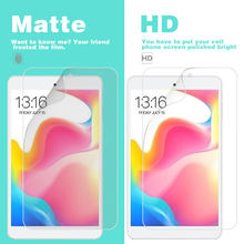 "Anti-Glare Voor Matte Film Cover Voor Teclast P10 10.1 ""P80 8"" HD Glossy Clear Screen Protector plastic Film lcd-scherm guard(China)"
