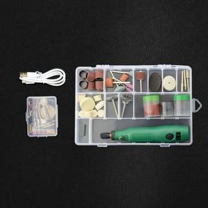 Image 5 - תרגיל אלחוטי כלים חשמלי מיני תרגיל אביזרי שחיקה 3.6V אלחוטי מיני חריטת עט עבור Dremel כלים