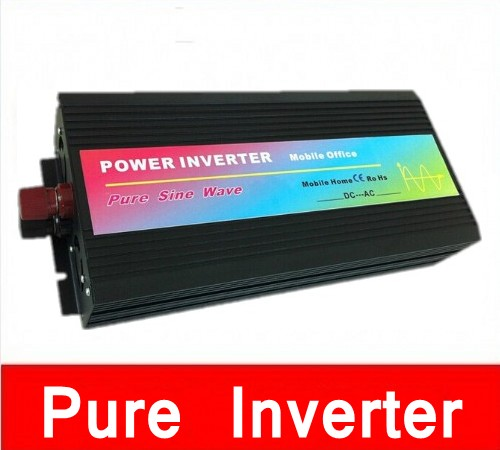 цена на Volt Display AC Inverter Solar Inverter 2500Watt / 2500W 12/24/48VDC, 5000W Peak Pure Sine Wave Power Inverter