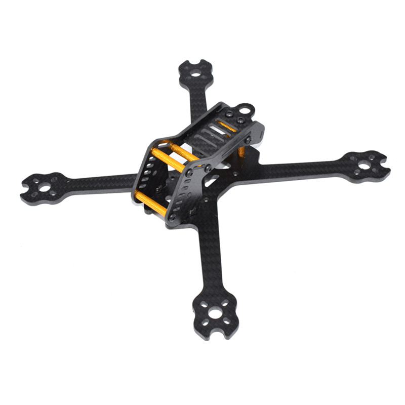 AuroraRC Armor220 220mm Carbon Fiber FPV Racing Drone X Frame Kit 4mm For FPV Racing Frame RC Drone Quadcopter Helicopter ormino fpv quadcopter frame kit tarot 300 mini drone frame rc racing frame quadcopter fpv drone glass carbon fiber frame