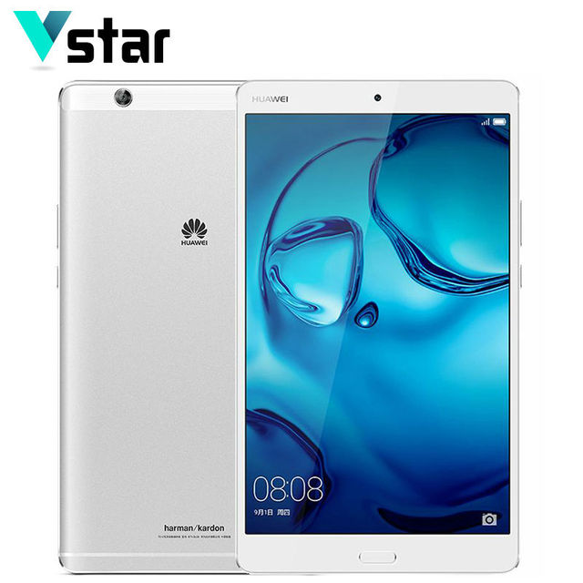 Huawei mediapad 4 м3 ГБ ram 64 ГБ rom кирин 950 octa Core 2 К Экран Планшетного ПК 8.4 дюймов Android 6.0 GPS 8.0MP + 8.0MP