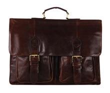 2016 Real Limited Zipper Oil Wax Leather Bag Men Handbags Cowhide Genuine Crossbody Men's Travel Bags Laptop Briefcase Shoulder
