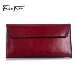 Esufeir 2017 genuine leather women wallet long purse vintage solid cowhide multiple cards holder clutch fashion.jpg 250x250
