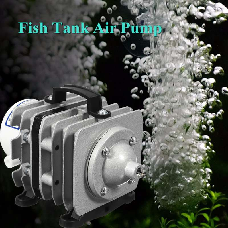 20 W/35 W/40 W 220 V 20L/40L/50L/min pompe à Air électromagnétique oxygène pompe à Air hydroponique Aquarium réservoir de poissons bulle Portable