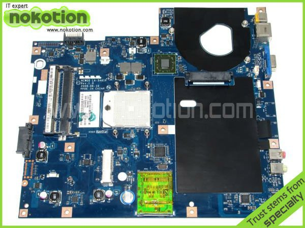 NOKOTION MB.N6702.001 laptop motherboard for ACER 5532 series 5517 series LA-5481P MainBoard M780G DDR2 nokotion la 5481p laptop motherboard for acer aspire 5516 5517 5532 mbpgy02001 mb pgy02 001 ddr2 free cpu mainboard