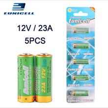 5pcs/lot 12V 23A Alkaline battery for Doorbell, Car alarm, Remote control 21 23 A23 E23A MN21 MS21 V23GA L1028 Dry Batteries 5pcs lot alkaline battery 12v 23a dry batteries 21 23 a23 e23a mn21 ms21 v23ga l1028 for doorbell car alarm remote control etc