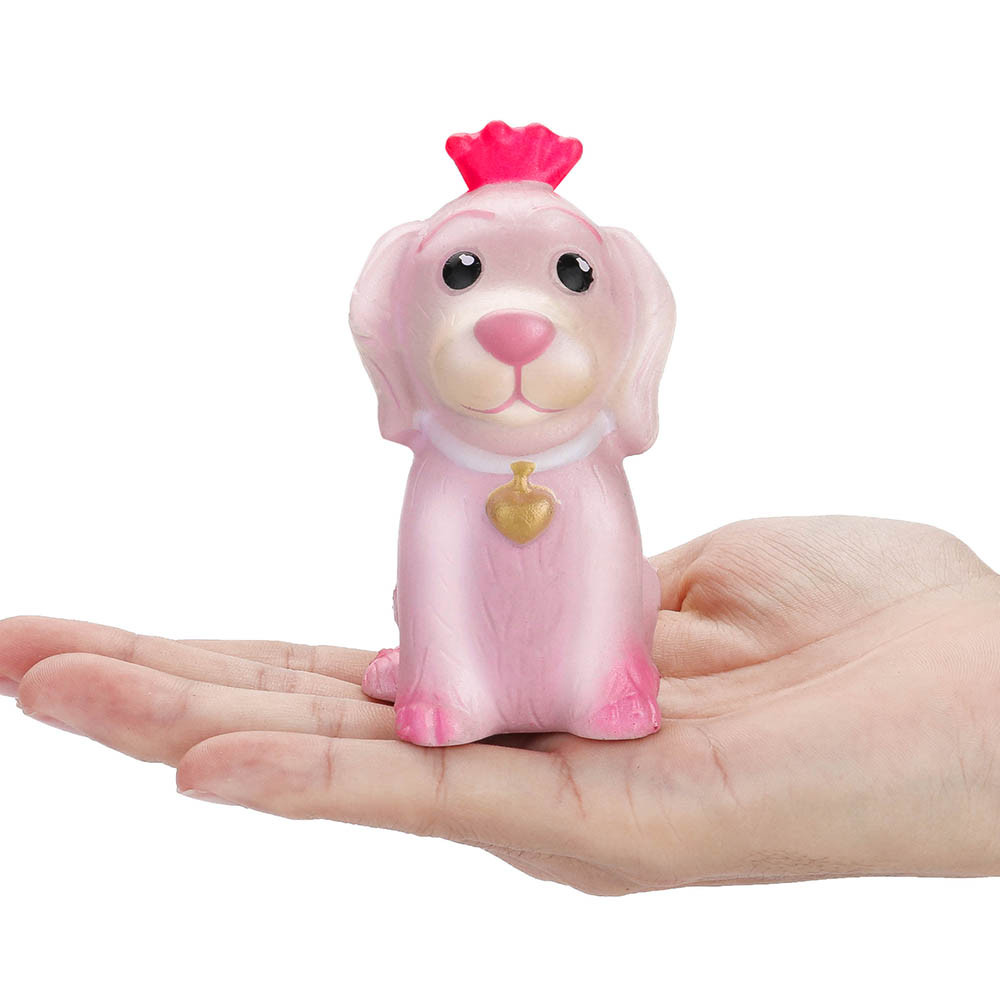 Pink Pet Dog Squeeze Stress Reliever Toy 4