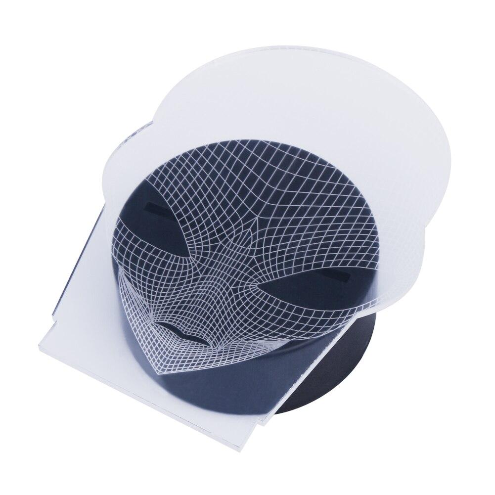 3D Illusion Color Changing Alien Shape LED Decoration Lamp