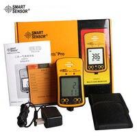 AS8903 портативный высокочувствительный Угарный газ сенсор монитор lcd дисплей 2 в 1 Угарный газ/Угарный газ газообразный сероводород детектор