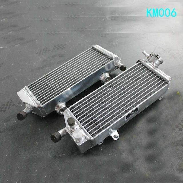 L&R New Aluminum Alloy Radiator For KTM 250/450/530 EXC/EXC-F 2008 2009 2010 2011