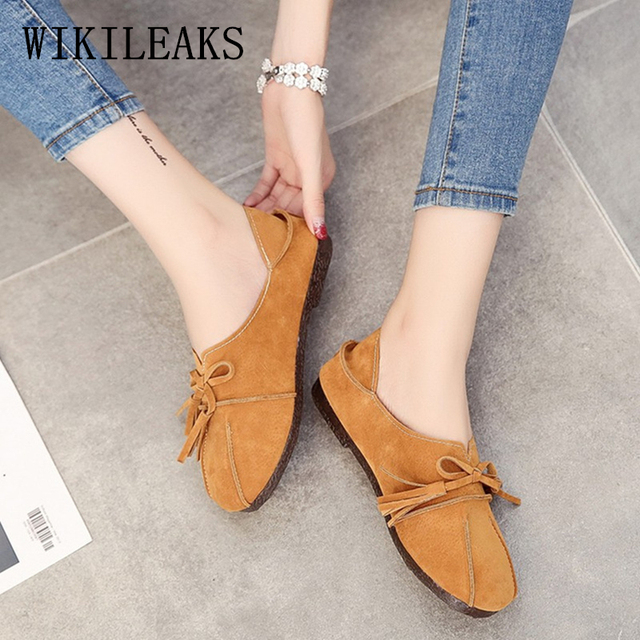 10b99c041590 Fringe flat shoes women loafers mules shoes woman moccasins flats  zapatillas mujer casual ladies shoes chaussures