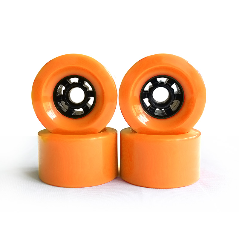 78A 90*52mm Longboard roues PU Skateboard 8 pouces pont Longboard camions ABEC-9 roulements bagues Skateboard route roues camion - 6