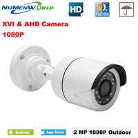 CCTV XVI/AHD 2.0MP 1080P HD Sicherheit Kamera mit IR-CUT 24 IR LEDs Nachtsicht Analog kamera für heimgebrauch indoor/outdoor