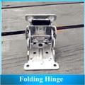 high quality Folding Hinge / Table Legs Hinges / 90 Degrees Self-locking Folding Furniture Hardware 4PCS