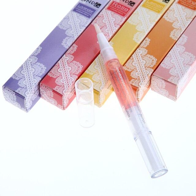 1 шт. Новый Кутикулы Уход Nail Art Советы Питание Нефть Лечение Маникюр Pen Tool Красоты Ногтей Польский