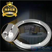 40CM Luxury Silencer Thicken Aluminium Alloy Lazy Susan With Voice Erasure Strap Smooth Solid Rotary Base