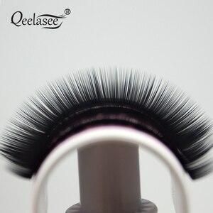 Image 5 - Qeelasee 4 trường hợp 0.07 3D tập chồn cá nhân cây nối mi giả cils làm lên lông mi maquiagem cilios Hàn Quốc chất liệu