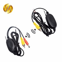 2 4G Wireless Video Transmitter Receiver Kit For Car Rear View Camera And DVD Monitor Screen