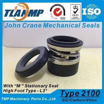 Type 2100-2-25, 2100K-25, 2100-25 (L3 *) joints à soufflet en élastomère-joints mécaniques John Crane (matériau: SiC/carbone/Vit)