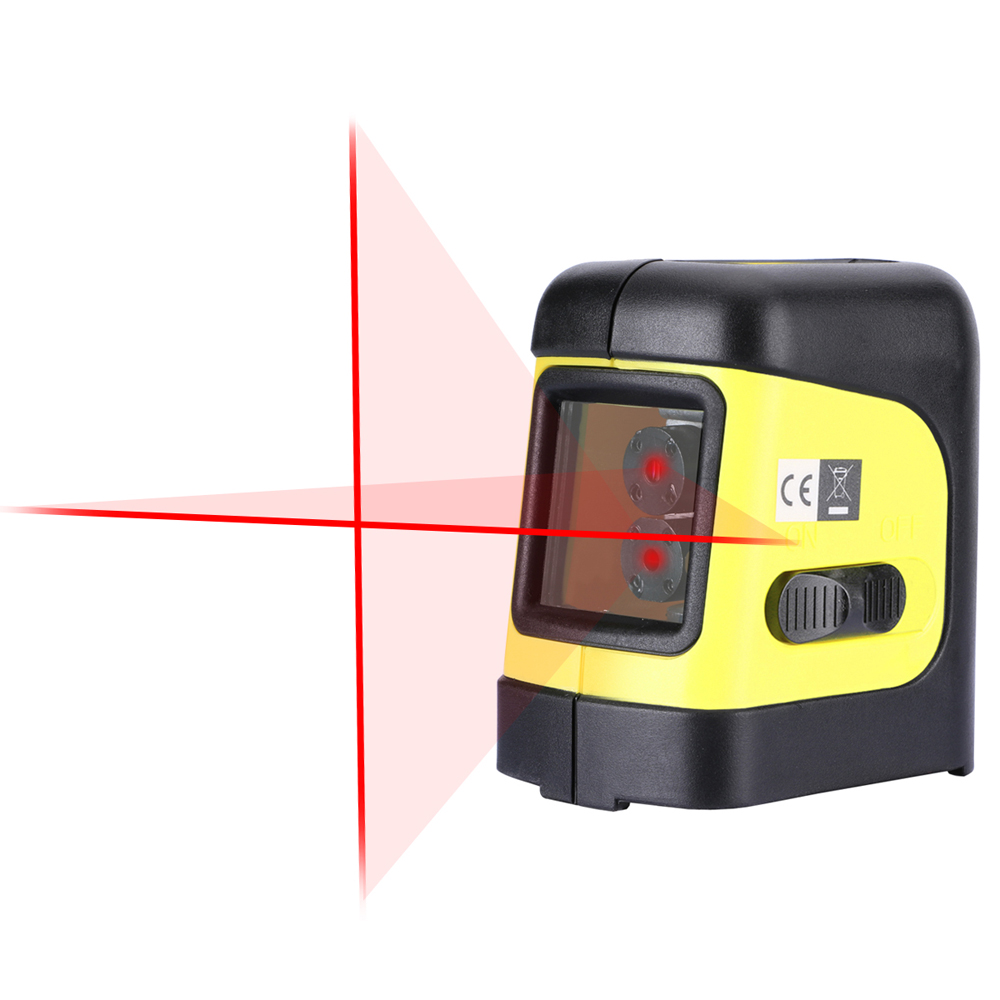 Firecore F112R 2 линии лазерный уровень самовыравнивающийся (4 градусов) Горизонтальный и вертикальный кросс-линия Мини Размеры