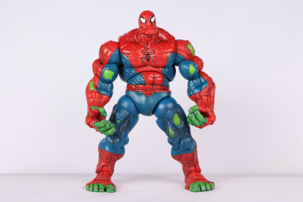 Toy Biz Oringinal Marvel Legends Spiderman Classics Spider-Hulk Action Figure Loose Rare