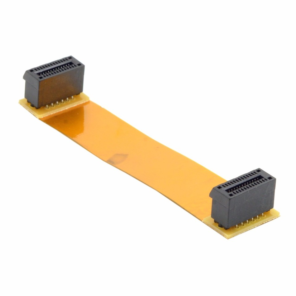 Untuk Asus Nvidia Sli Bridge Crossfire Interkoneksi Flex 100mm Kabel Pci E 1x 26pin Perempuan Untuk Perempuan Asus 7600 Cable Iphonecable 2 5mm Aliexpress
