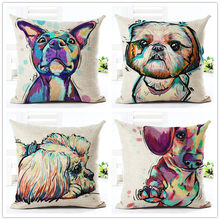 Cute Decorative Dog Pillowcases