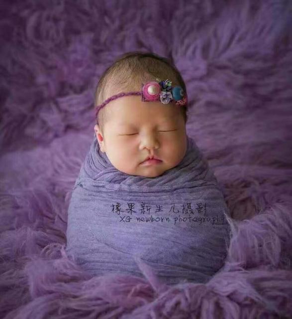 Gauze Cheeseclpth Wrap Newborn Stretch Knit Wrap Photography Props