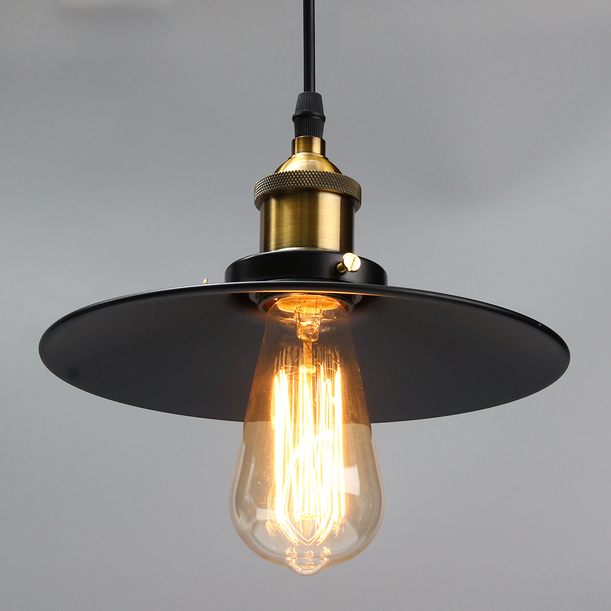 E27 Industrial Retro Vintage Iron Ceiling Lamp outdoor balcony Nordic creative vintage bedroom Pendant Light Chandelier Fixture