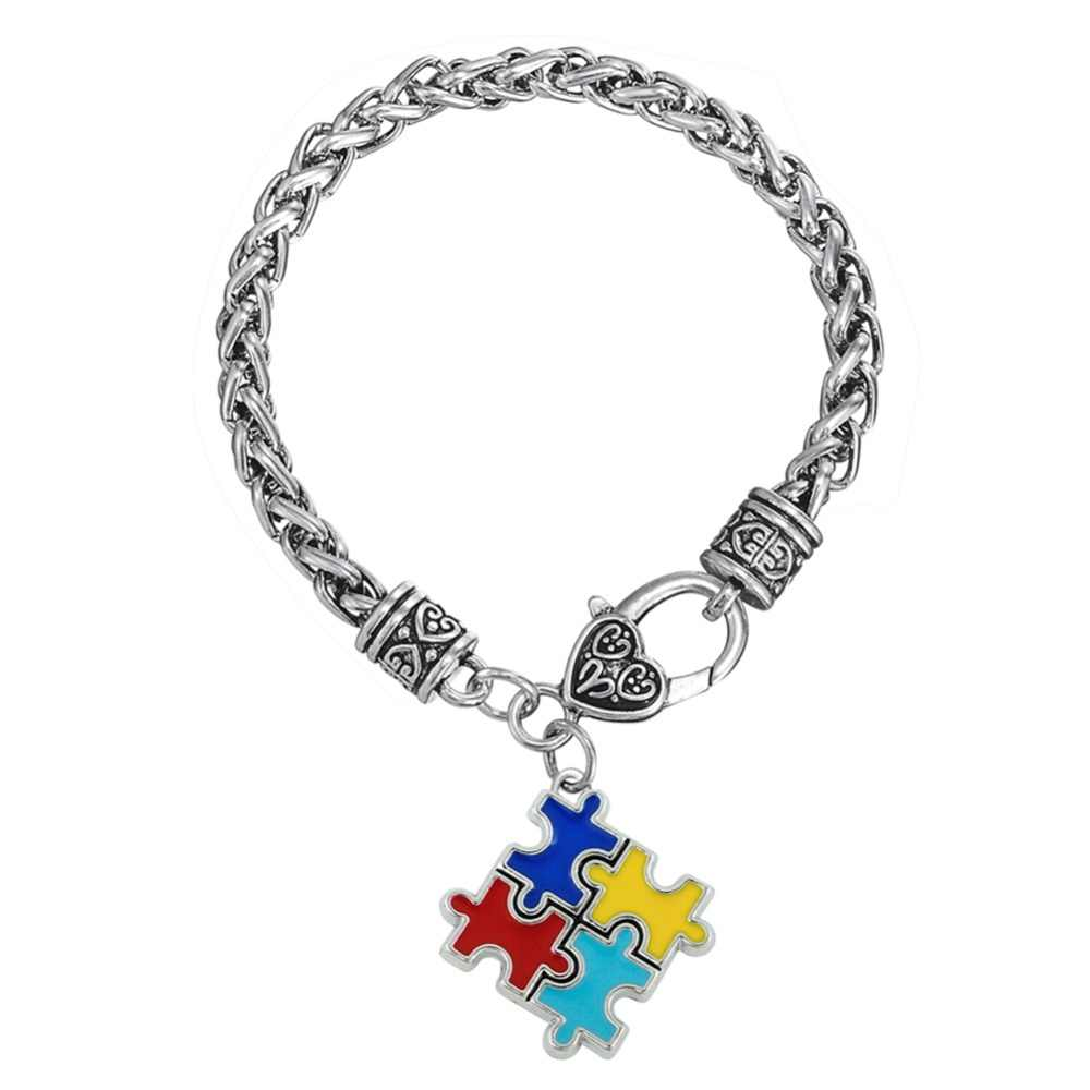 AUTISM Medical Alert Paracord Bracelet Charm Shoelace Charm Image 7