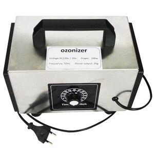Image 2 - Atwfs 48g gerador de ozônio 220v 20g/10 g/h purificador de ar ozonizador máquina perfume ar mais limpo ozon o3 gerador ozonizador