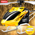 Syma W25 RC Helicopter Shatter Resistant Toy for Kids with Flashing LED Light Mini Remote Control Drone Gift for Children