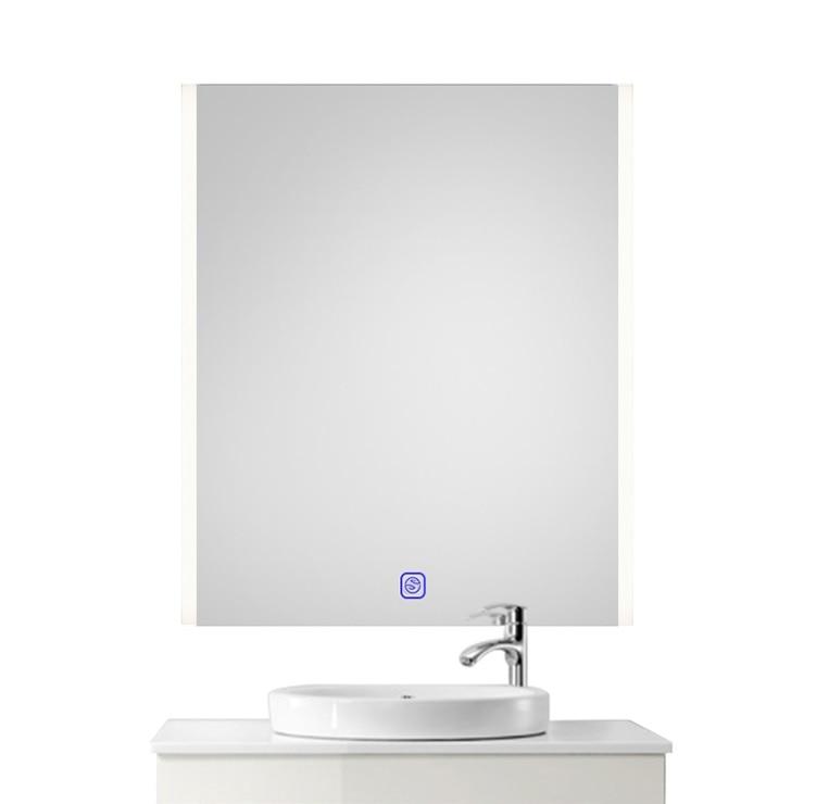 800x600mm LED Mirror / Bathroom Defogger Mirror /  Wet Location / 220V LED Lighted Mirror / Futuristic Chic Glossy 1