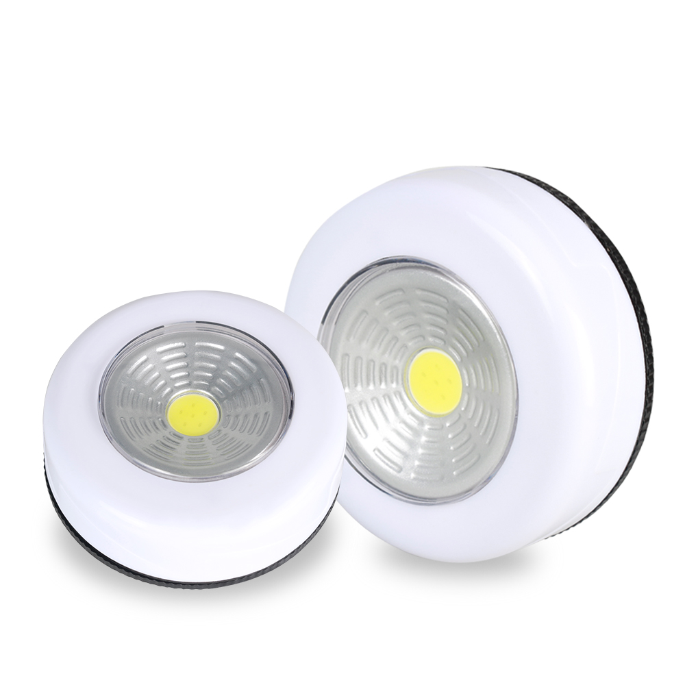 Portable Cordless LED Under Cabinet Lights Easy Install AAA