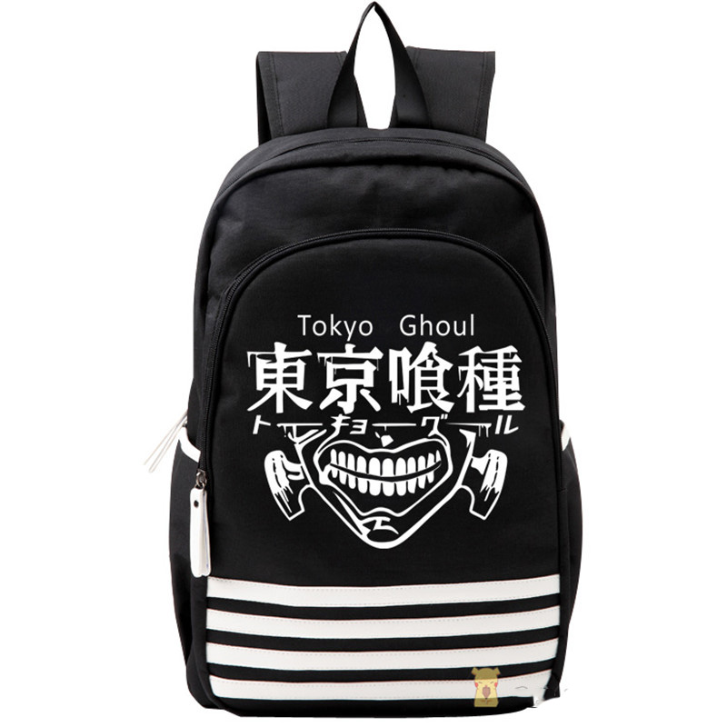 Japan Anime Tokyo Ghoul Cosplay Shoulders Bag Backpack Cartoon Schoolbag Mochila Unisex Casual Travel Bags 2017 anime cartoon tokyo ghoul bag kaneki ken school bags travel durable teenager school tokyo ghoul cosplay backpack