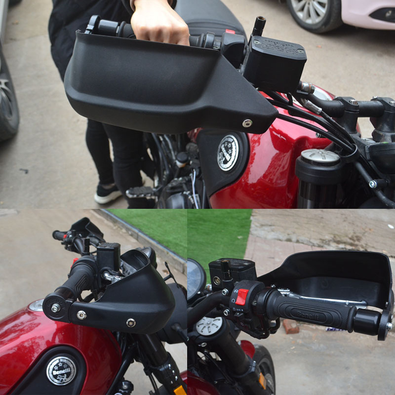For Benelli TRK502 TRK 502 BN300 TNT300 Motorcycle Accessories Hand Guard Brake Clutch Protector Wind Shield Handguard motorcycle wind shield brake lever hand guard for benelli bj600gs bn600i bj300gs bn300 bn600 bj600 with hollow handle bar