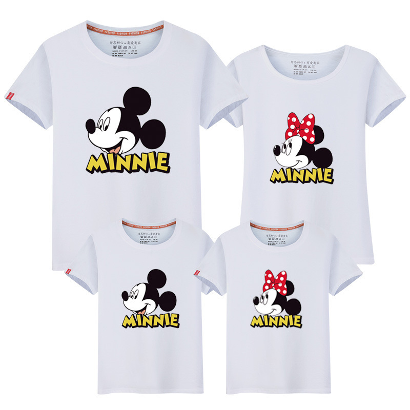 Family Matching Clothes Mother And Daughter Mickey Minnie ...