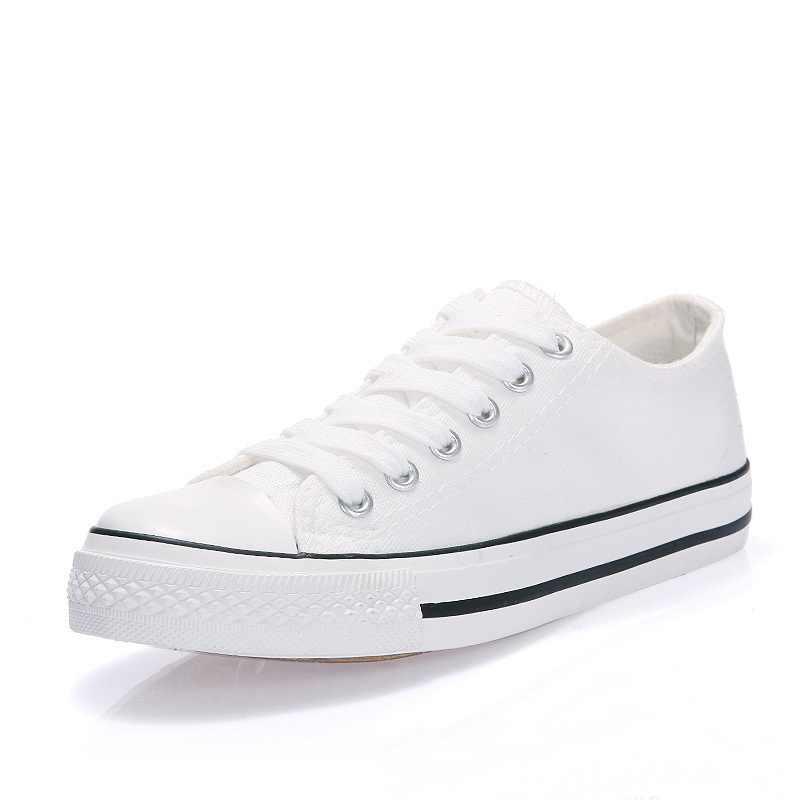 Femmes baskets décontractées 2019 nouvelles chaussures en toile blanche chaussures vulcanisées femme étudiants chaussures de marche Zapatos Tenis Feminino