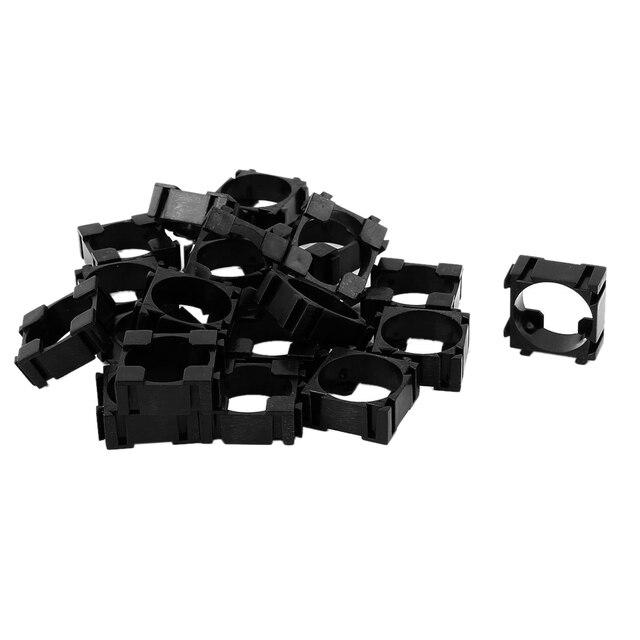 Top Deals 20pcs 18650 Lithium Cell Cylindrical Battery Case Holder Batteries Pack Plastic Holder Bracket For Diy Battery Pack