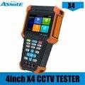 X4 Самый дешевый 4-дюймовый 5MP AHD 8MP TVI 8MP CVI IPC тестер с H-D-M-I входом  IPS сенсорный экран  800*480 разрешение Тестер монитор