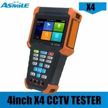 X4 Самый дешевый 4-дюймовый 5MP AHD 8MP TVI 8MP CVI IPC тестер с входным сигналом, сенсорный экран IPS, монитор с разрешением 800*480