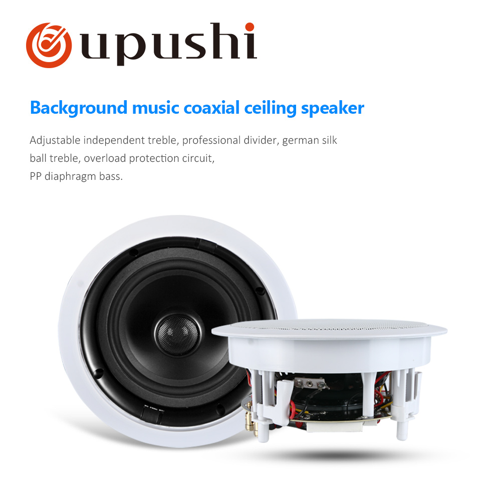 Professional Karaoke Hifi Ceiling Speaker With Great Sound Quality Bass Coxial Wall SpeakersProfessional Karaoke Hifi Ceiling Speaker With Great Sound Quality Bass Coxial Wall Speakers