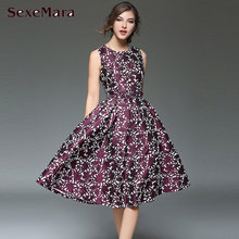 Fashion Women Vintage Sleeveless Dress with Sashes High Quality Comfortable Material Woman Long Dress for Female Stylish Dresses