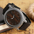 New Arrival Wood Novel Handmade Watches Bamboo Nature Casual Wrist Watch Genuine Leather Band Men Gift relogio masculino