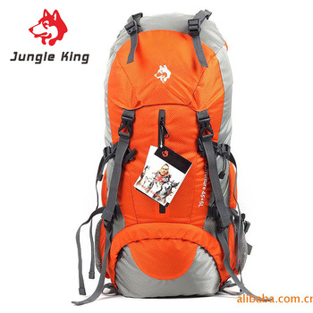 Jungle King Outdoor high quality 50L professional mountaineering bag  sports backpack ultra light camping hiking bag wholesale