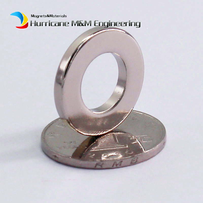 1 Pack NdFeB Magnet Ring OD 22x12x3 (+/-0.1)mm Diameter 0.87'' Round Strong Magnets Axially Magnetized Rare Earth Magnet 1 pack grade n38 ndfeb micro ring diameter od 9 5x4x0 95 mm 0 37 strong axially magnetized nicuni coated rare earth magnet