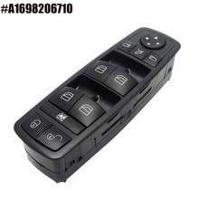 Power Window Lock Switch Electric Window Switch for Mercedes-Benz A1698206710 new electric power window switch a1698206710 for mercedes benz b klasse w245 a 169 820 67 10 1698206710