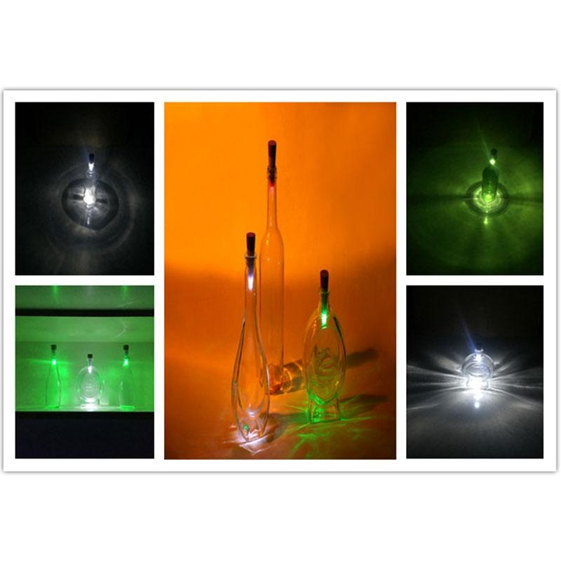 LumiParty Magic Cork Shaped LED Night Light Wine Bottle Cork Stopper Cap Lamp USB Rechargeable Romantic Cork Lights Party Decor