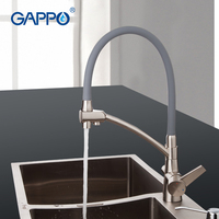 GAPPO Kitchen Sink Faucet Kitchen Mixer Tap Modern Purified Water Faucet Double Handle Drinking Mixer Water Filter Rotatable Tap